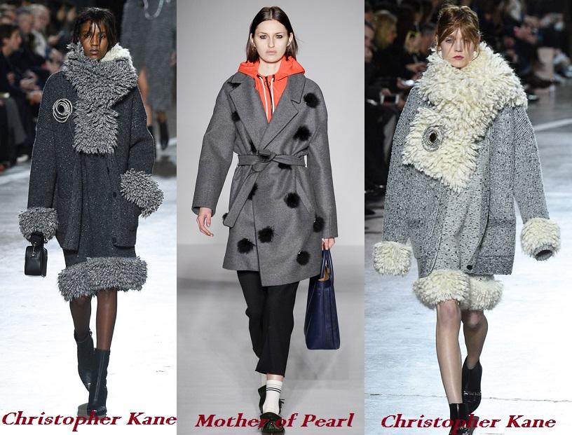 Женское пальто осень-зима 2017 модные тенденции 60 фото