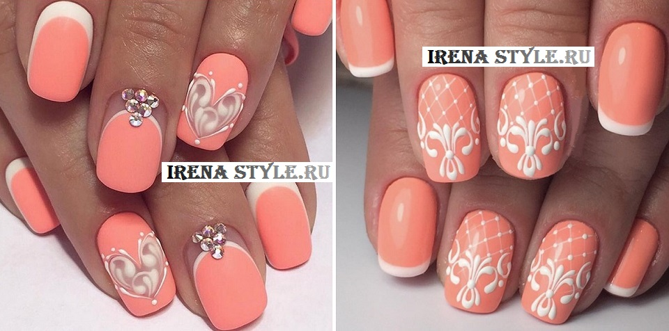 Дизайн квадратных нарощенных ногтей