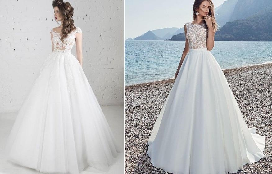 Красивые свадебные платья 2018 фото модные новинки