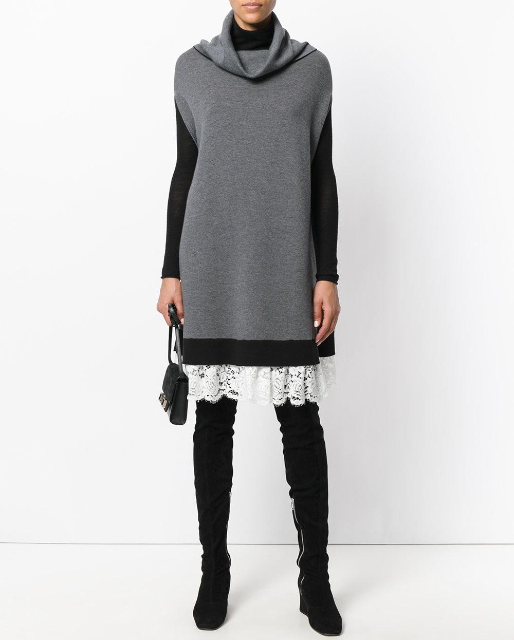Модные женские платья сезона Зима-2019 изоражения