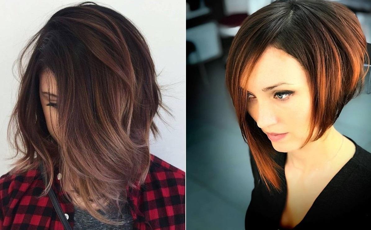 Покраска волос 2019 фото