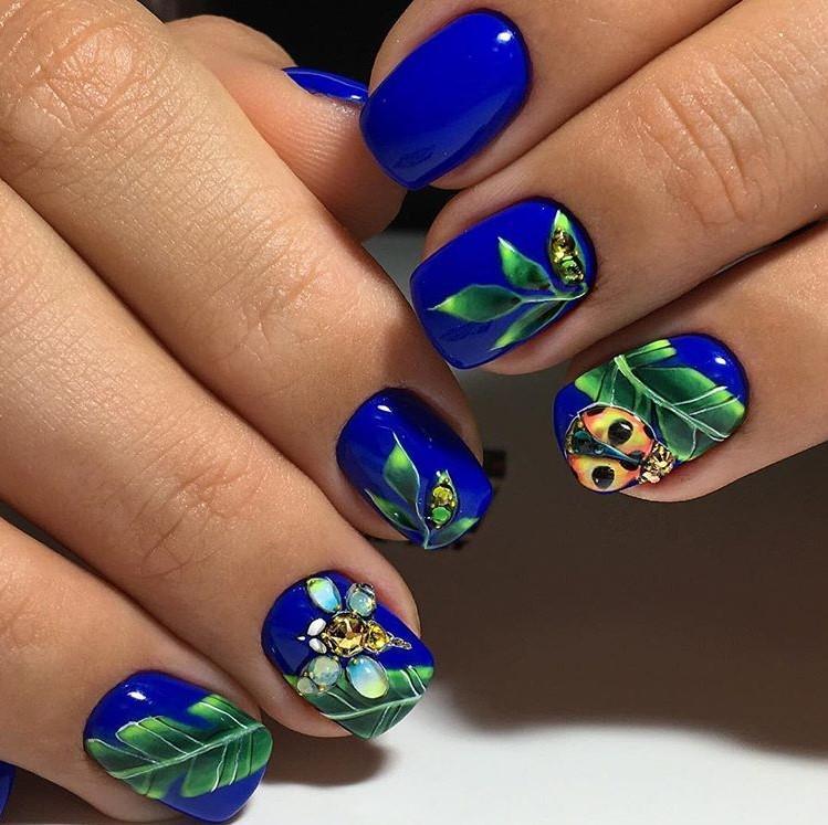 Дизайн ногтей кораллового цвета фото новинки 2019