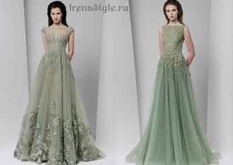 Модные вечерние платья осень-зима 2020-2021 новинки 45 фото