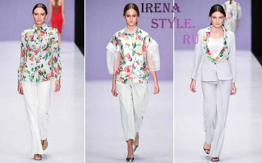 Мода для женщин после 40 весна-лето 2017 фото тенденции
