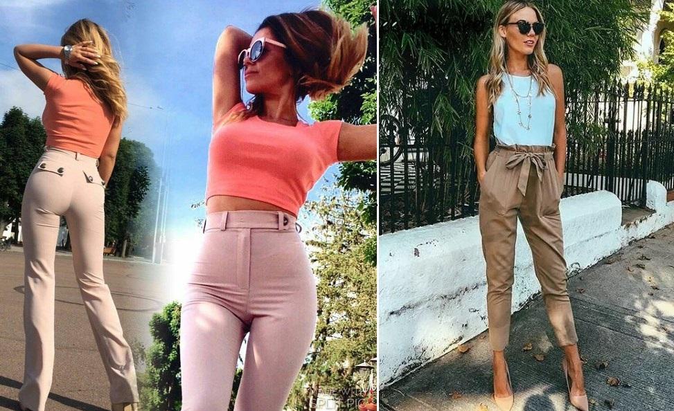 Модные женские брюки весна-лето 2021 фото фасоны новинки