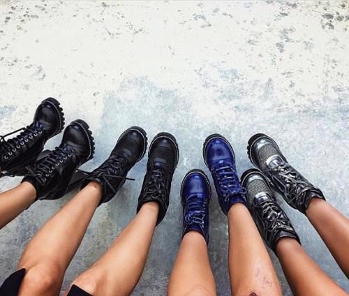 Обувь на тракторной подошве 2018 фото модные новинки