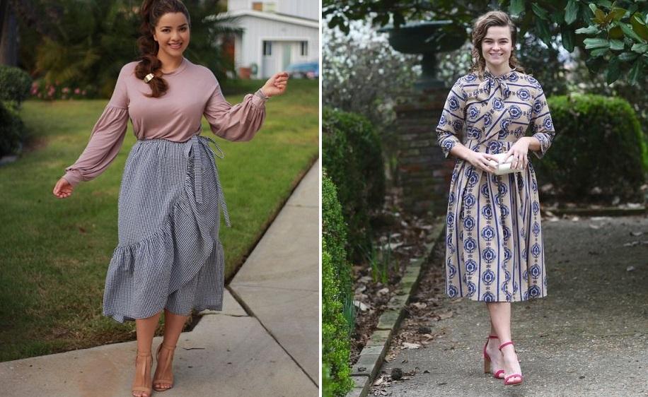 Модная одежда для женщин с большим бюстом фото 2018 новинки