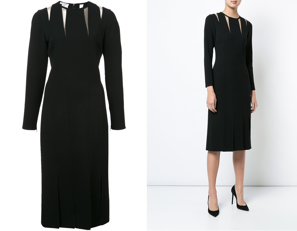 Строгие классические платья осень-зима 2020-2021 фото фасоны