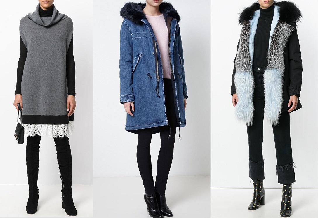 Новинки моды зима 2021 фото модные образы тренды тенденции