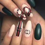Дизайн ногтей на юбилей 55 лет женщине 110 фото новинок