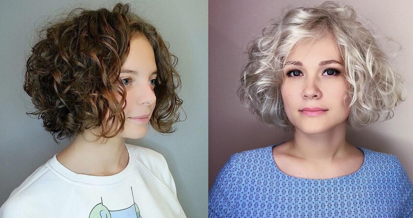 Модные стрижки на вьющиеся волосы 2018 фото стильные идеи