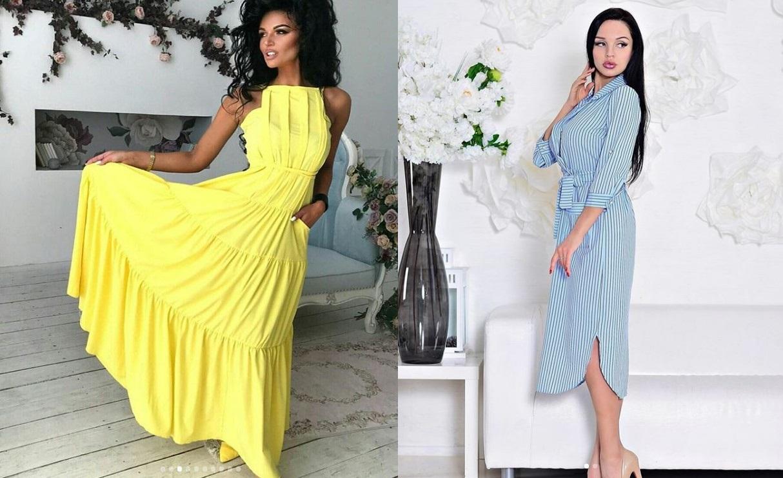 Модные льняные платья 80 стилистических решений 2018 фото