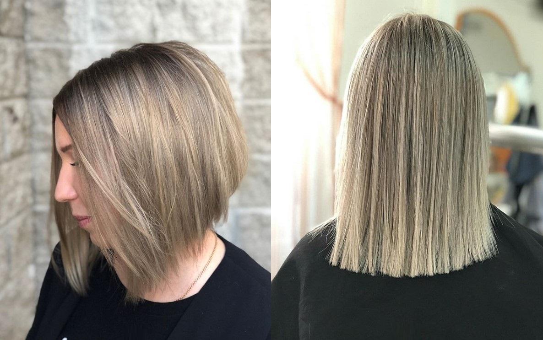 Стрижки для тонких и редких волос фото новинки 2018 модели
