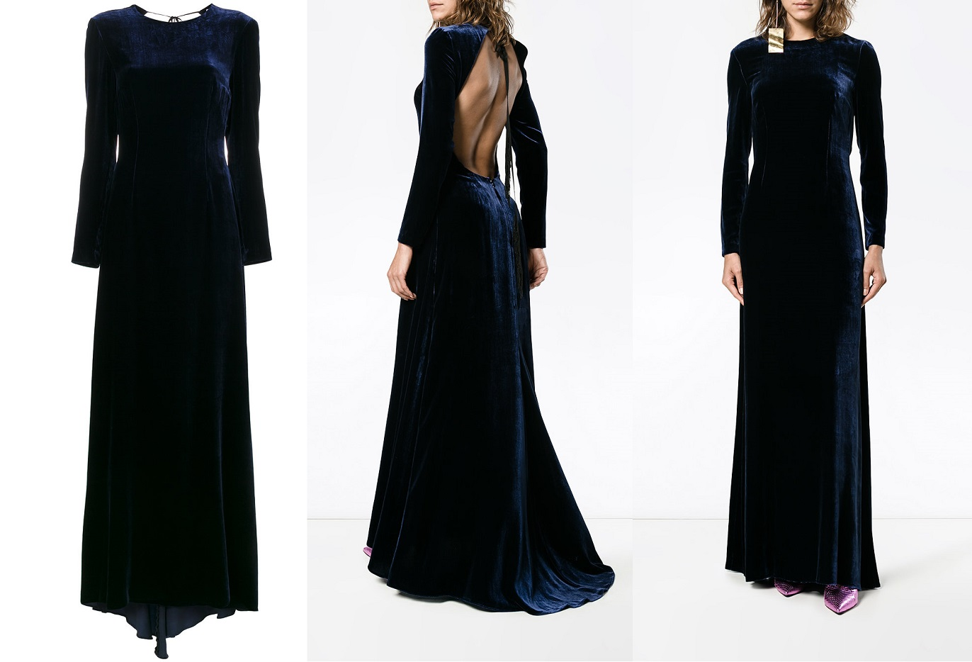 Велюровые бархатные платья 2021 фото модных новинок