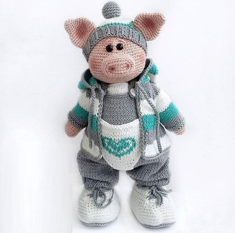 Символ года 2019 Свинка Поросенок своими руками фото