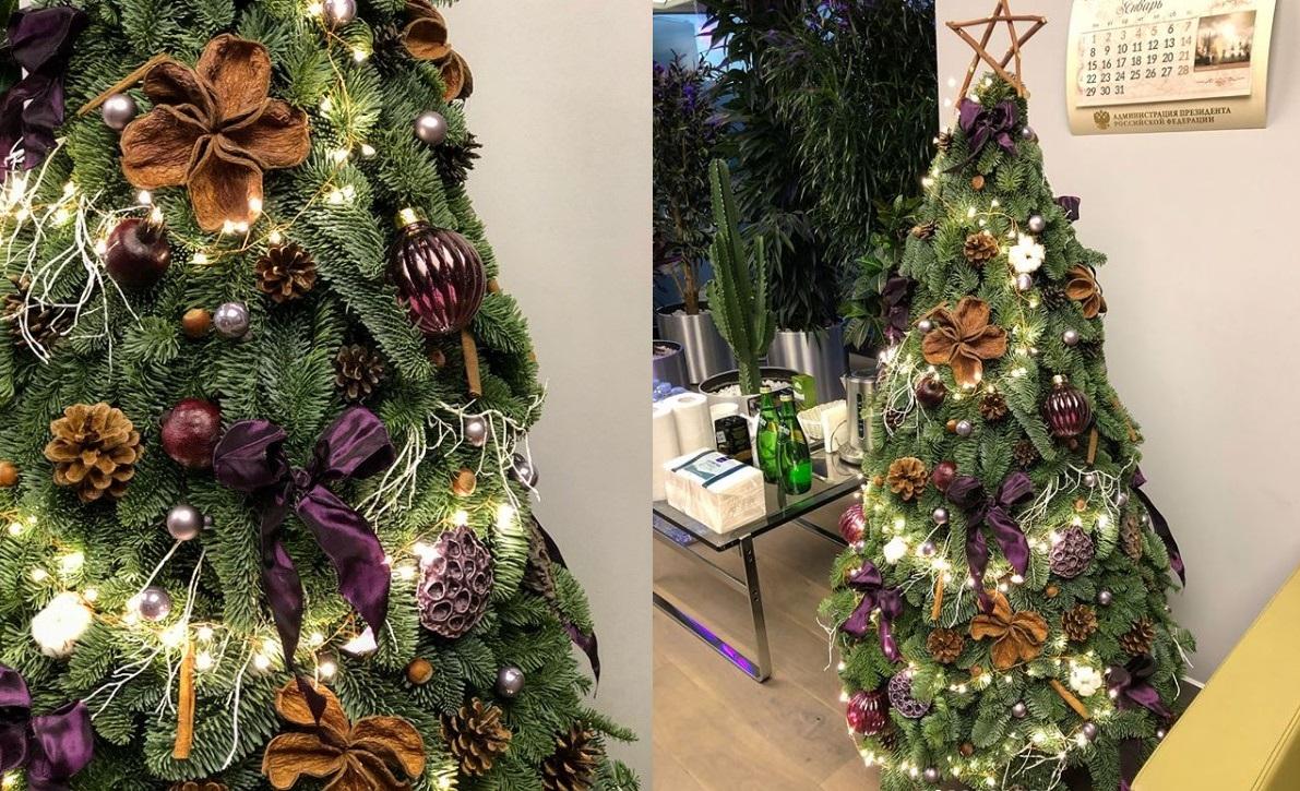 Как украсить елку в 2019 году фото красивые примеры идеи