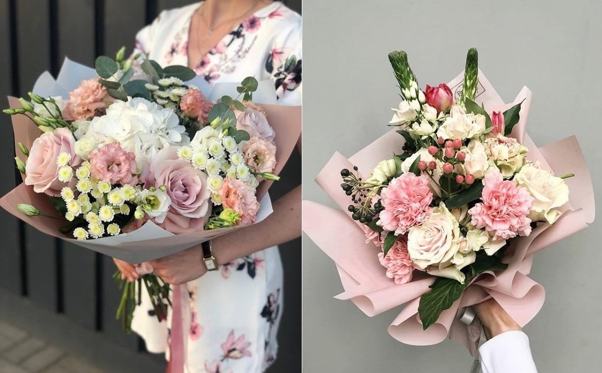Букеты на свадьбу от гостей фото