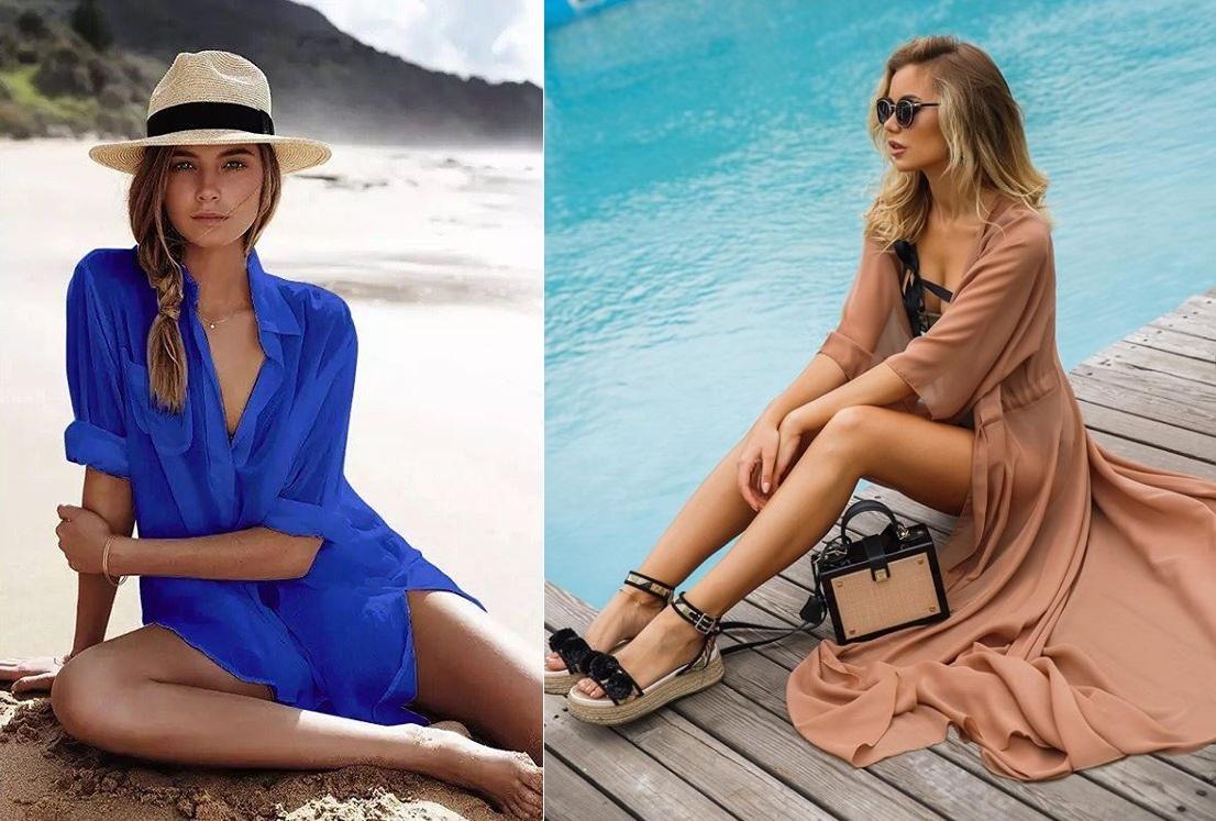 Модные пляжные платья лето 2021 года СТИЛЬНЫЕ ФАСОНЫ фото