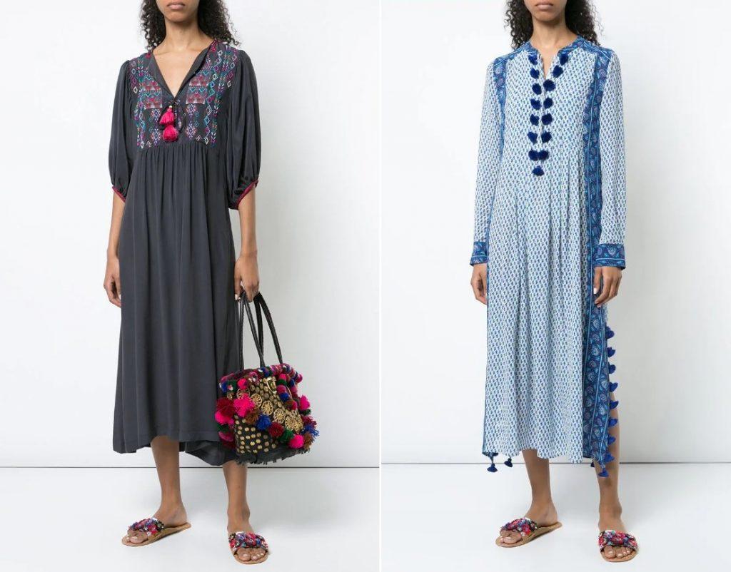 пляжные платья и туники 2021