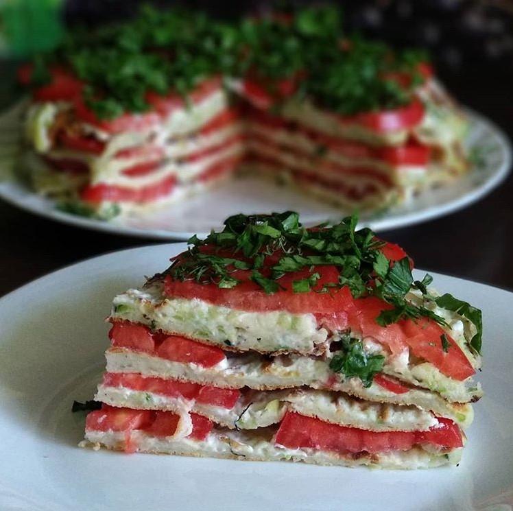 питания овощной торт постный рецепты с фото где