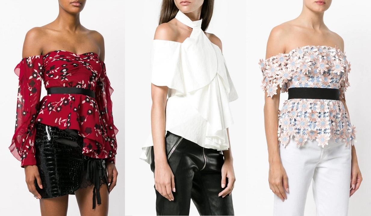 Модные блузки женские 2021 года идеи образов тенденции фото