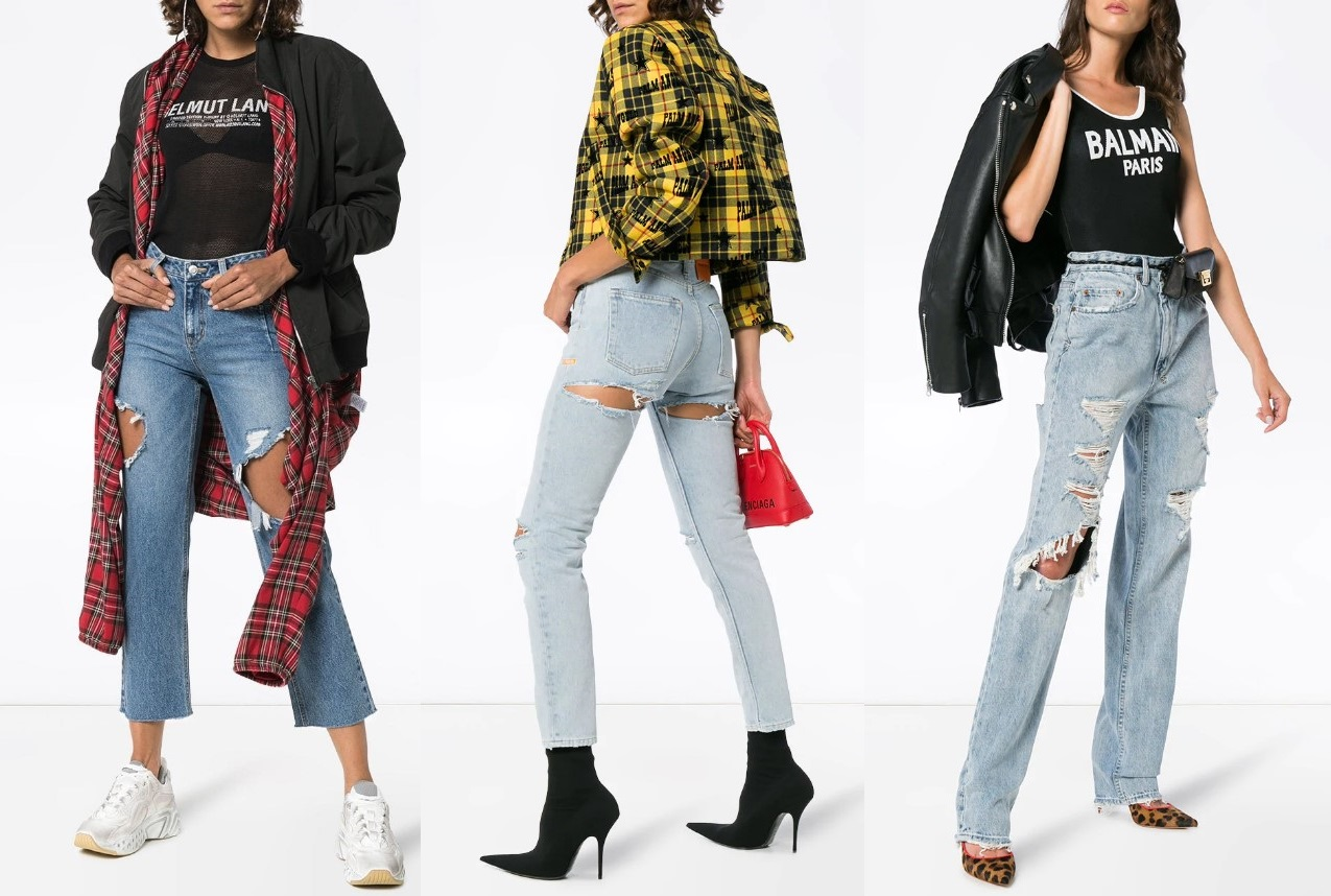 Самые модные джинсы женские 2021 лучшие тренды НОВИНКИ фото