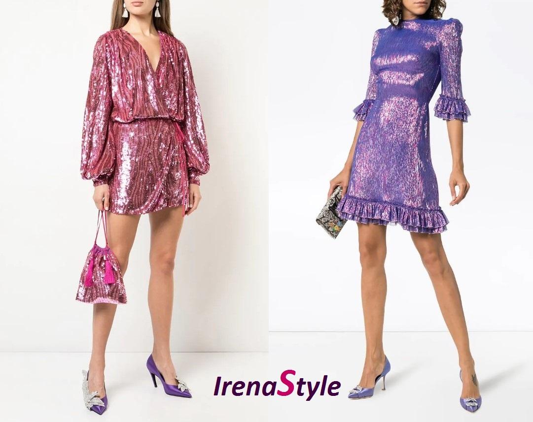 Платья цвета металлик 2019 - ТОП самых модных фасонов фото