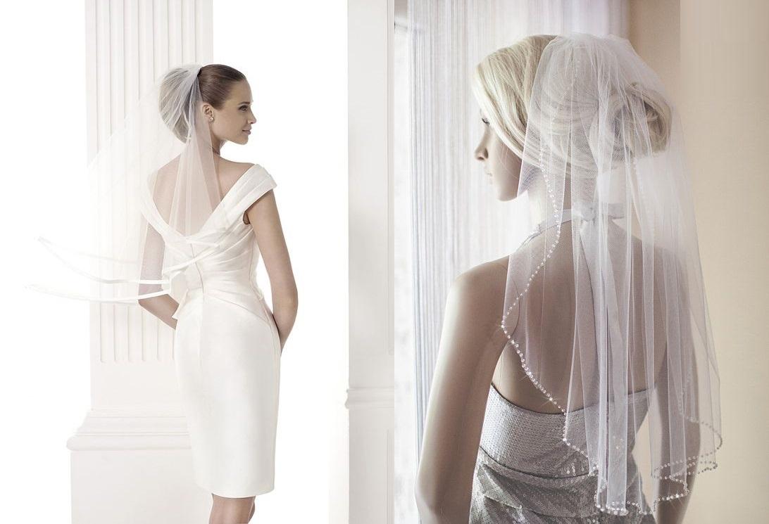 Модная свадебная фата 2021 года: фото самых свежих тенденций
