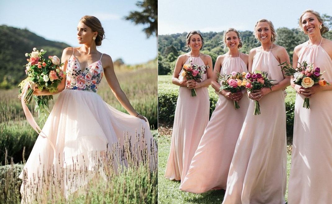 Модная свадьба в пудровом цвете 2020 ПУСТО