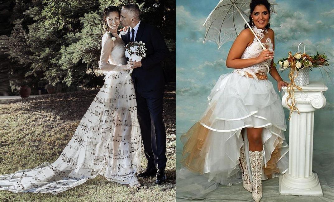 дал эту самые нелепые свадебные наряды фото севере