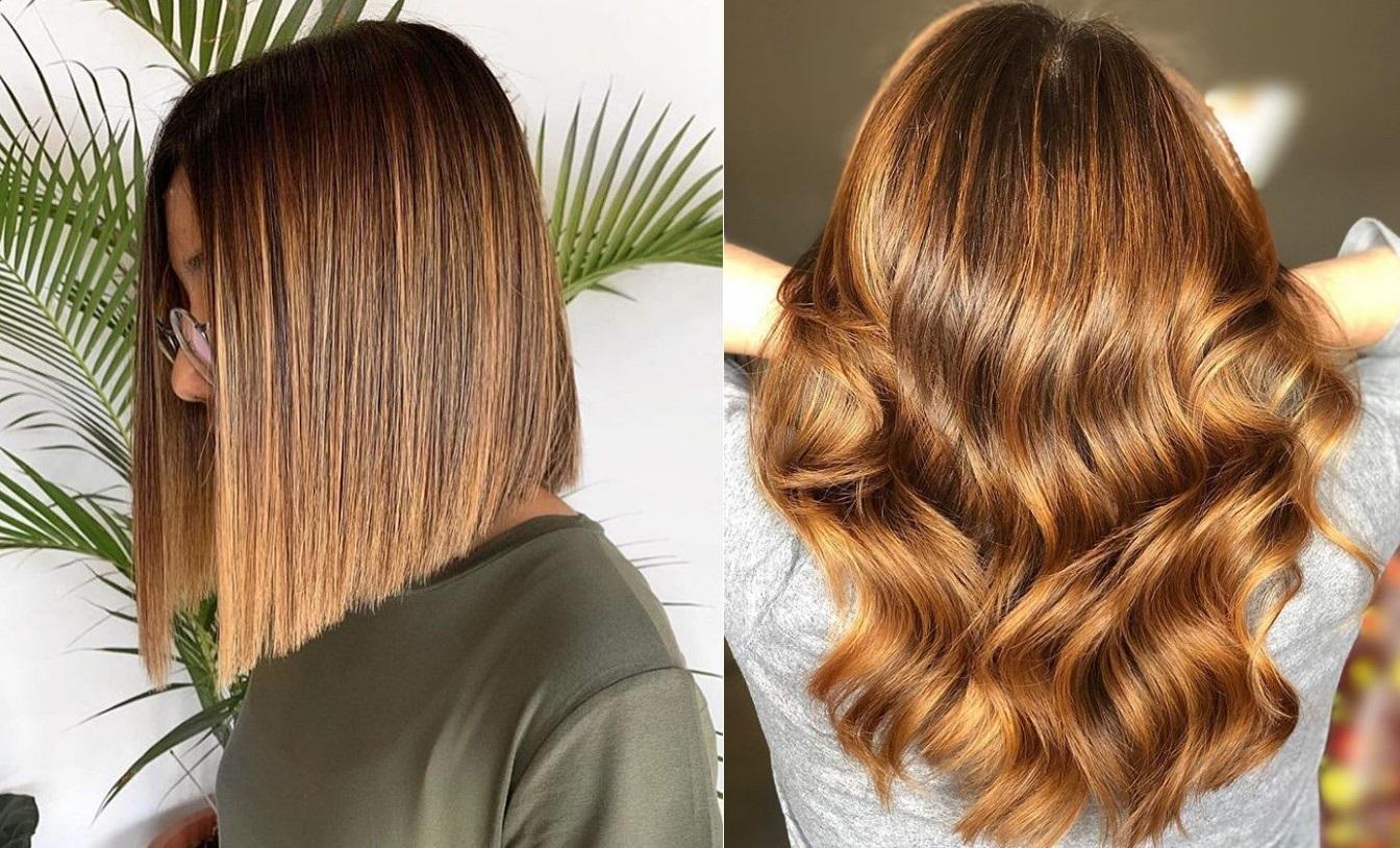 Модное окрашивание волос балаяж в 2021 году - роскошные фото