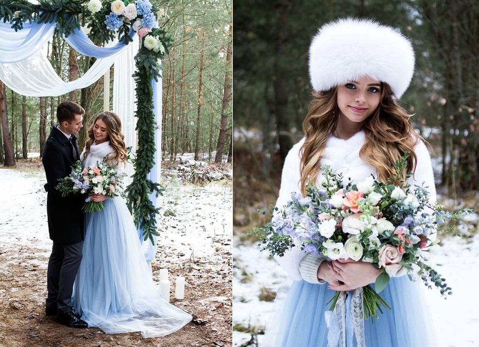 Модное свадебное платье для зимы 2021 года: Мега тренды фото