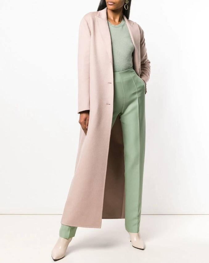 Модное весеннее пальто 2021 года: актуальные фасоны, 48 фото