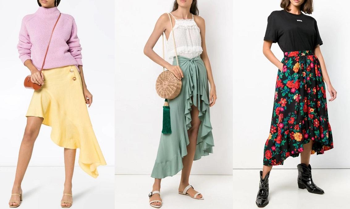 Модные юбки весна-лето 2020 года: цвета, длина, фасоны, фото