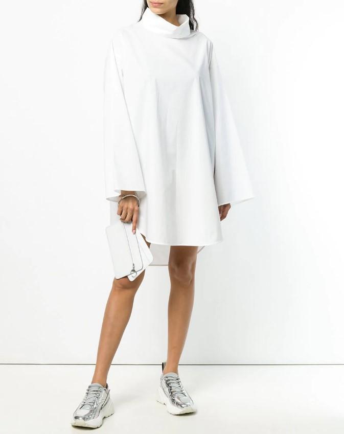 Весенние образы с платьем в 2021 году - фото модных образов