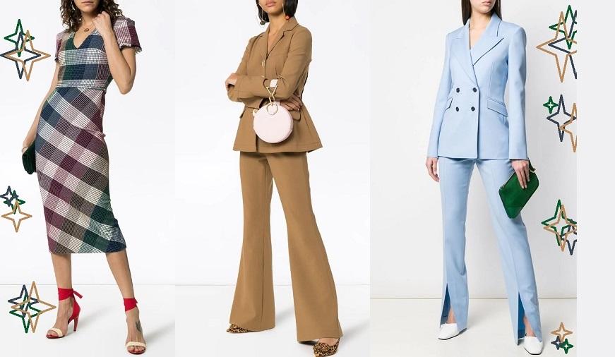Модные деловые образы весна-лето 2020 года - фото тенденции