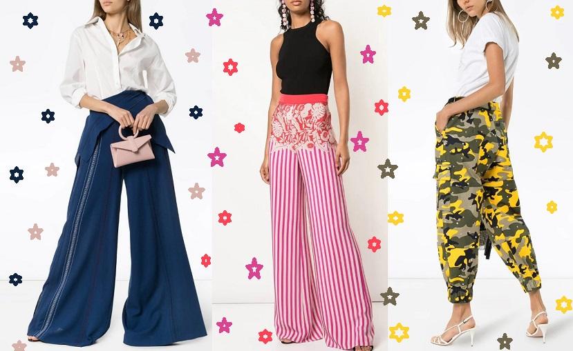 Модные тенденции брюк в новом сезоне весна-лето 2020 - фото
