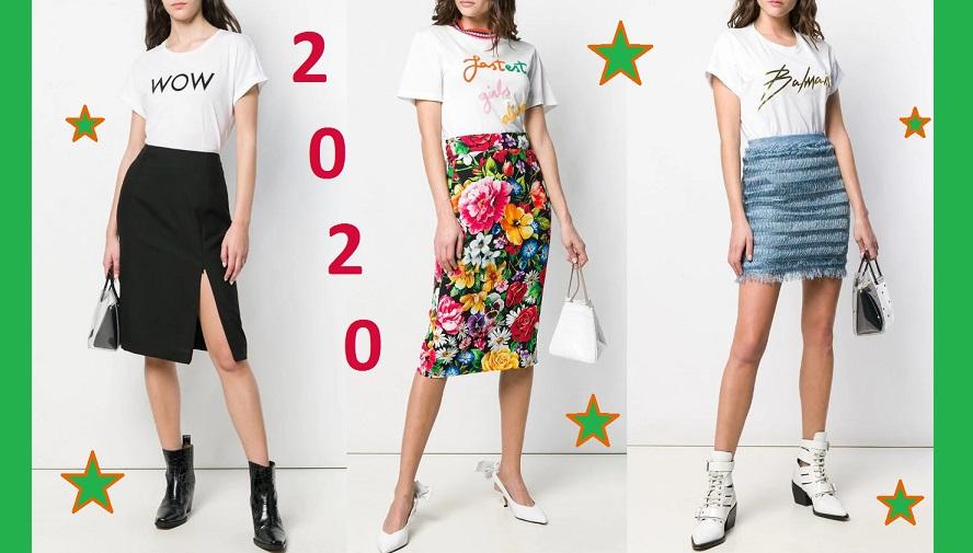 С чем модно носить юбки-карандаш весной и летом 2021: фото