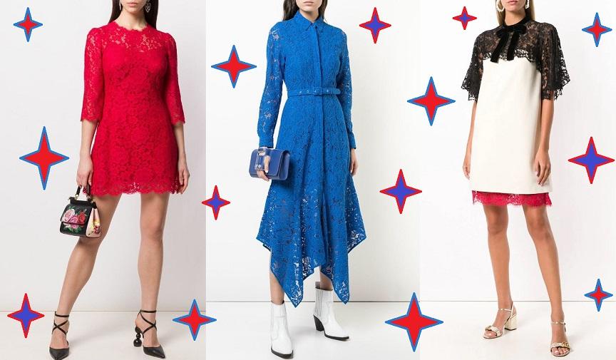 Самые красивые кружевные платья 2021 года: фасоны, 48 фото