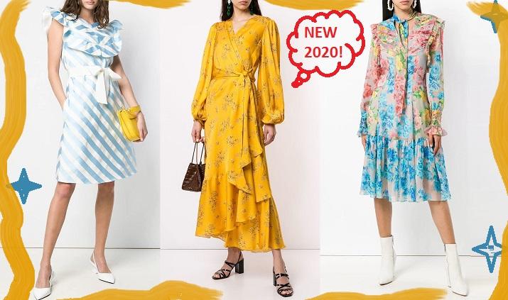 Модные повседневные платья весенне-летнего сезона 2020: фото