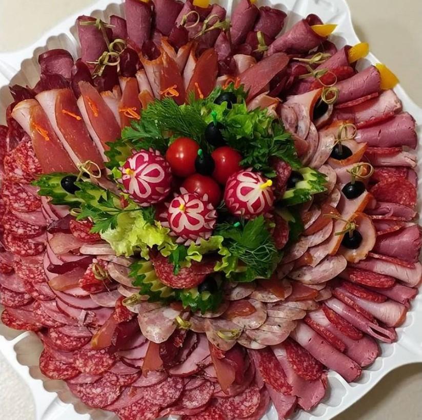 Праздничные нарезки на Новогодний стол 2020 - лучшие рецепты