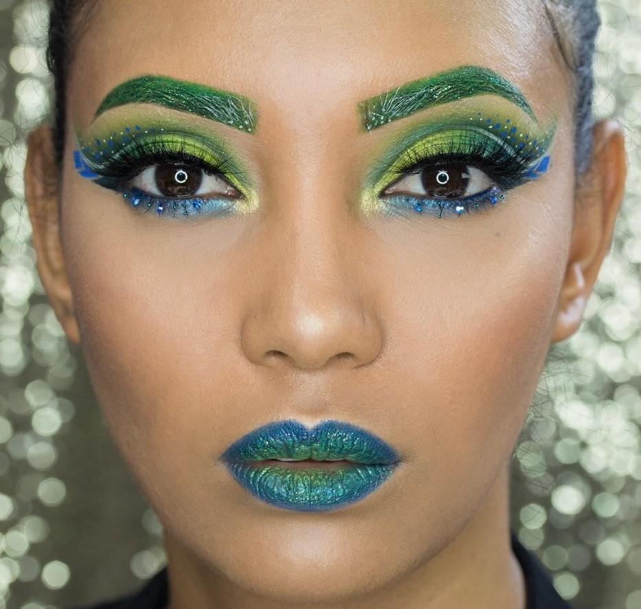 Новогодний макияж и маникюр: что модно в 2020 году фото идеи
