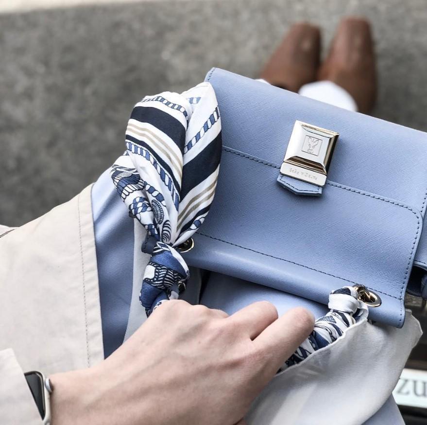 Как стильно завязать шарф: модные способы, тренды 2021, фото