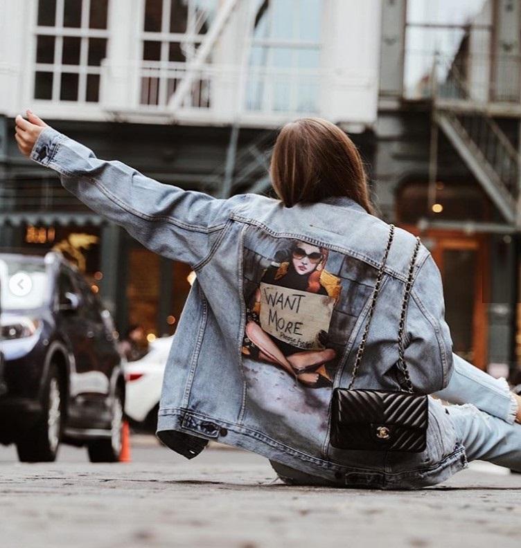Модная джинсовая куртка 2019 ХИТ сезона: тенденции, 75 фото