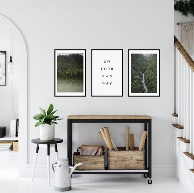 Модные картины и постеры для интерьера в 2021 году: 46 фото