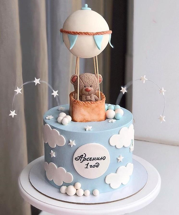 или торт в виде воздушного шара фото яркие