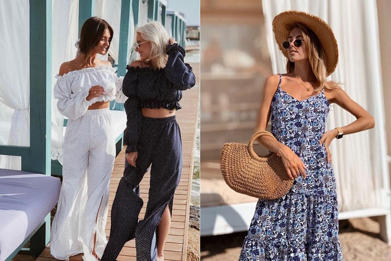 Модные образы на летнюю жару 2020-2021