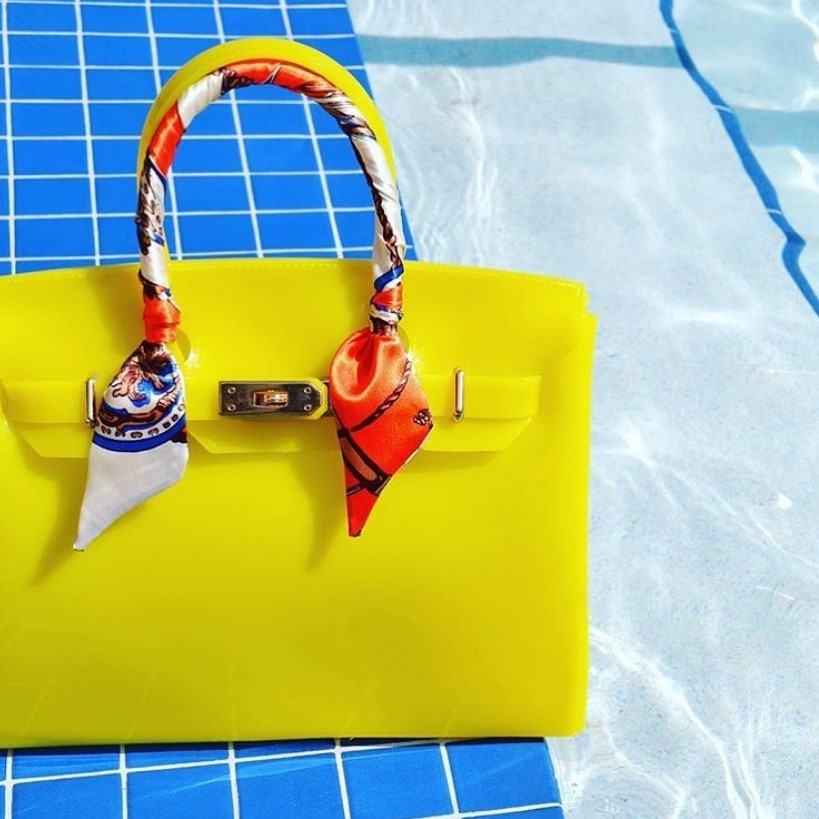 Стильные пляжные сумки лето 2021