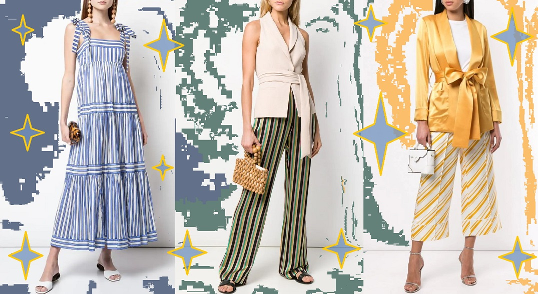 Модные вещи в полоску для лета 2020