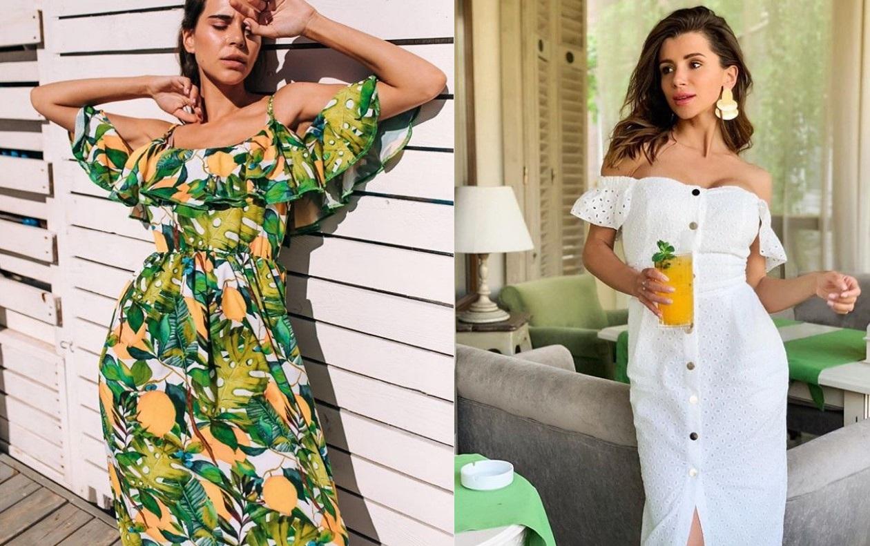 Летние легкие сарафаны на бретельках 2019 фото модные тренды